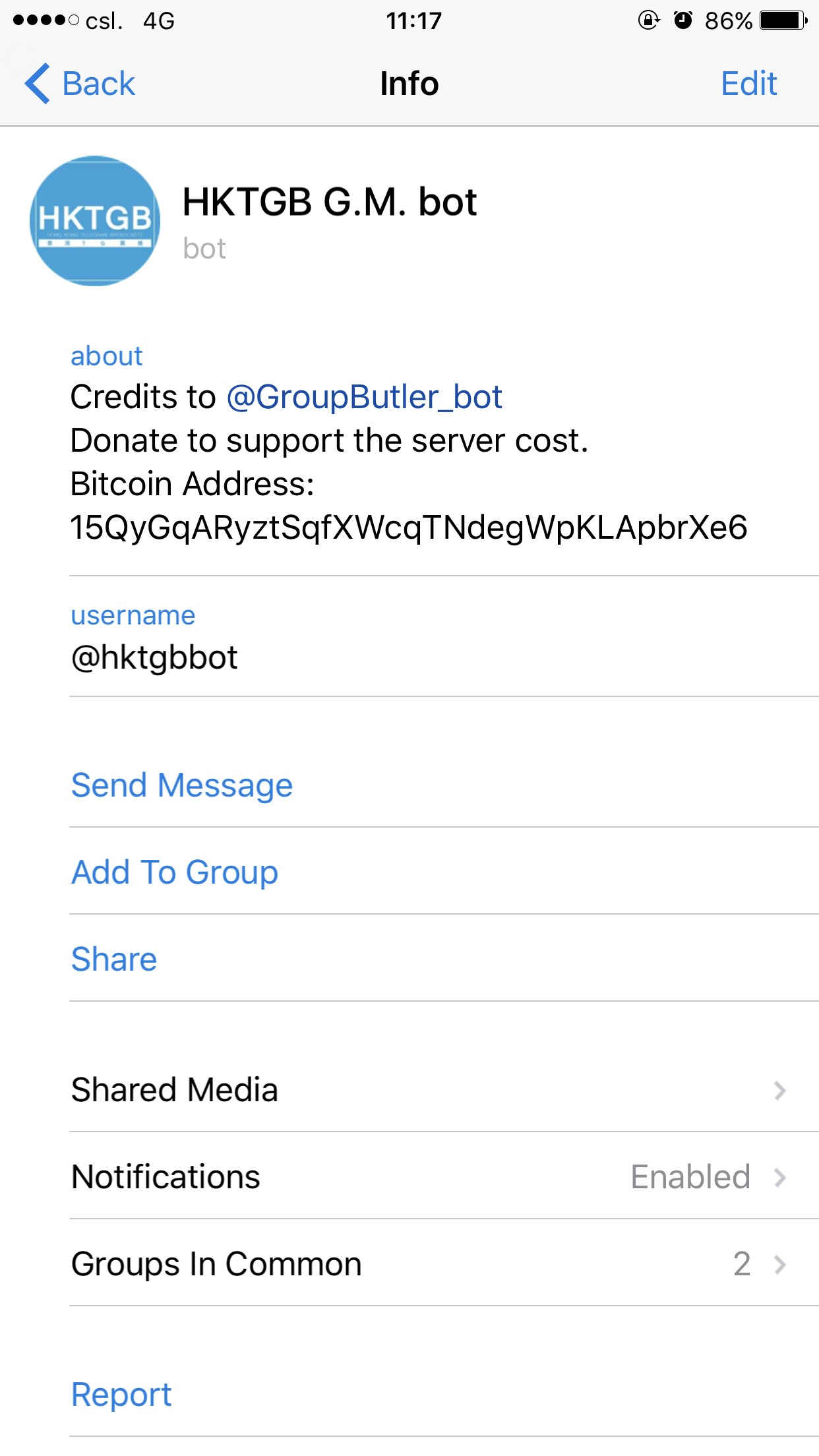 how to add someone in a group in telegram