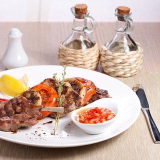 Restaurant food